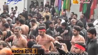 MADINA SYEDAN 9th of Muharram 1434 AH 2012-2013 PART 3/8