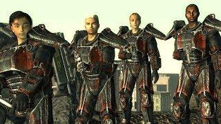 getlinkyoutube.com-Fallout 3 - Brotherhood Outcast VS. The Enclave (RANDOM ENCOUNTER)