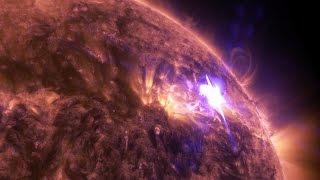 getlinkyoutube.com-NASA's 4K View of April 17 Solar Flare