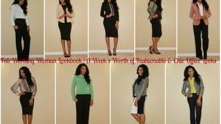 getlinkyoutube.com-Fab Working Woman Lookbook | A Week of Fashionable & Chic Office Looks