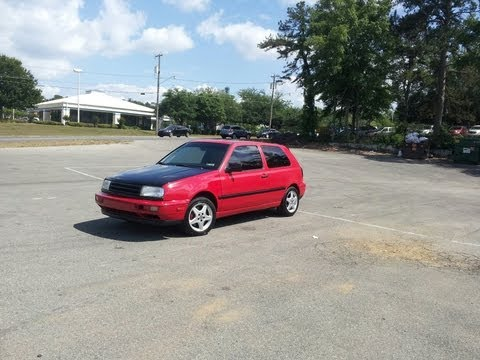 97 Vw Golf Jti Vr6 start up and drive