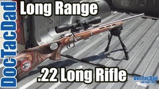 getlinkyoutube.com-Long Range .22LR - 344 Yards Savage Mark II BTVSS