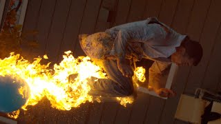 getlinkyoutube.com-Fire-breathing Backflip with Steve-O - The Slow Mo Guys