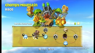getlinkyoutube.com-SKYLANDERS SUPERCHARGERS WII CHOMPY MOUNTAIN RACE part 2