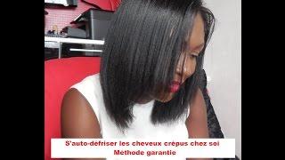 getlinkyoutube.com-S'auto-défriser les cheveux crépus chez soi _ Méthode garantie