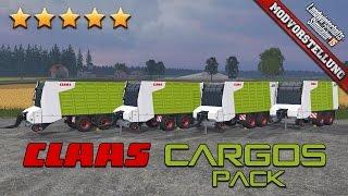 getlinkyoutube.com-LS 15 Modvorstellung #211 ★ Claas Cargos Pack