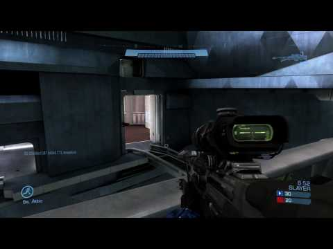 Halo: Reach Beta Commentary - Chig - Swordbase Team Slayer