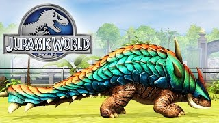 getlinkyoutube.com-Jurassic World The Game - Giganocephalus Level 40