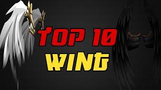 getlinkyoutube.com-⌠Aqw⌡ |Top 10 |【Wings】