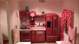 getlinkyoutube.com-The Fascinating American Girl Doll House Tour 2013 (Raw)