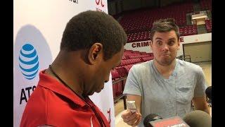 getlinkyoutube.com-Avery Johnson has Nick Saban moment after Alabama basketball practice