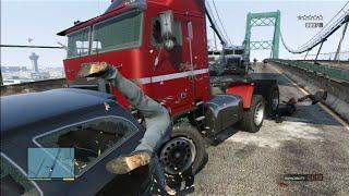 getlinkyoutube.com-GTA 5 Funny/Brutal Kill Compilation Vol.43 (Trucks Smashing Cops)
