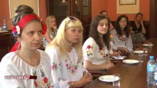 Studentki z Ukrainy odwiedziły Wejherowo