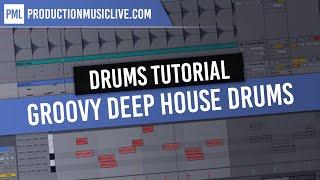 getlinkyoutube.com-Ableton Live Tutorial: Producing Groovy Deep House Drums Live 9 Deep Premium Vol. 1 [no comment]
