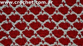 getlinkyoutube.com-Punto Fantasía N° 33 en tejido crochet tutorial paso a paso.