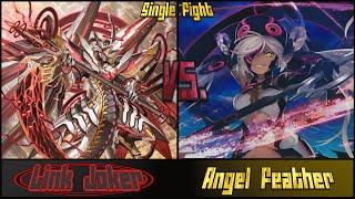 getlinkyoutube.com-Cardfight! Vanguard: Link Joker (CBD) vs Angel Feather (Reverse)