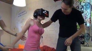 getlinkyoutube.com-Realidade virtual as dez reações mais engraçadas