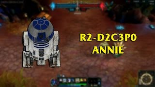 [自製Skin] R2-D2C3P0 安妮