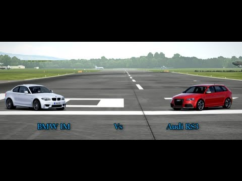 Forza Motorsport 4 Battle - Episode 3: BMW 1M Vs Audi RS3