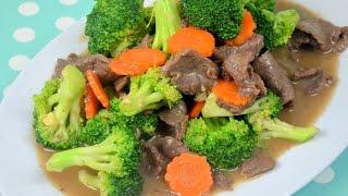 getlinkyoutube.com-How to Make Restaurant Style  Beef and Broccoli เนื้อผัดบร็อคโคลี่