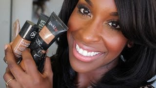 getlinkyoutube.com-Best Foundations For Women of Color!!!