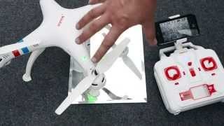 getlinkyoutube.com-Syma X8W FPV Quadcopter Quick Start Guide & Review