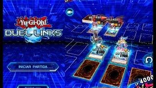 getlinkyoutube.com-Gameplay YUGIOH Duel Links en Español con Animaciones y Dobles Duelos 3D 2017