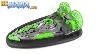 getlinkyoutube.com-Fast Lane RC X-Craft hovercraft review