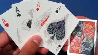 getlinkyoutube.com-4 ACE TRICK REVEALED / MAGIC TRICKS REVEALED / MAGIC TRICK WITH CARDS / Beginner Magic