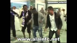 getlinkyoutube.com-جماهير العين تستقبل أسمواه جيان بمطار العين 12-2-2012
