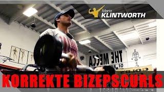getlinkyoutube.com-Deutscher Meister IFBB zeigt korrekte #Bizepscurls für Muskelaufbau und Dicke Arme