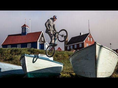 Trials Biking in Greenland - Petr Kraus 2013