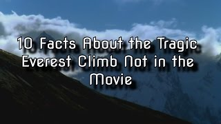 getlinkyoutube.com-10 Facts About the Tragic Everest Climb Not in the Movie