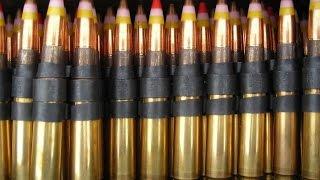getlinkyoutube.com-MOST POWERFUL !!! US Military Machine Guns drill holes in Military Tank Armour