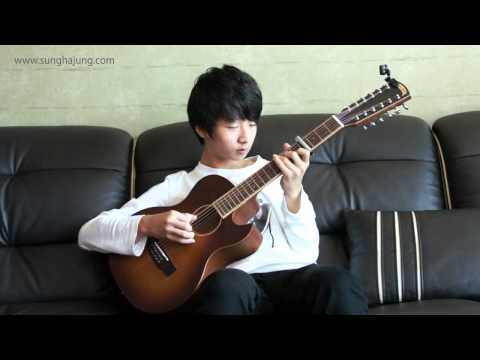 (2ne1) Lonely - Sungha Jung (12 strings guitar : 4capo Ver)