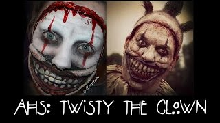HALLOWEEN: AHS Freak Show - Twisty the Clown Makeup Tutorial | shlemonade