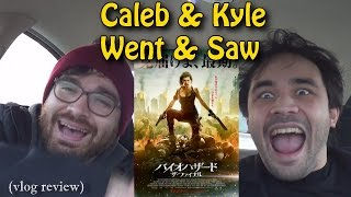 "getlinkyoutube.com-We Saw ""Resident Evil: The Final Chapter"" (vlog review)"