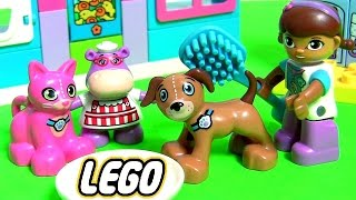 getlinkyoutube.com-LEGO DUPLO Clínica Veterinária da Doutora Brinquedos 10828 Doc McStuffins em Portugues de Brasil