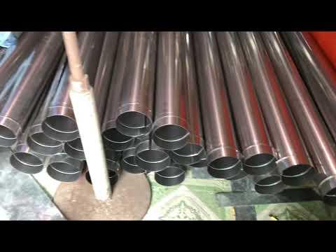 Ống gió, ống bảo ôn inox 304 bóng đẹp độ dày 0,3mm hoặc 0,4mm đã là siêu cao cấp