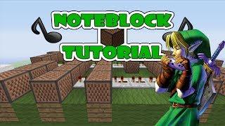 """getlinkyoutube.com-Legend Of Zelda """"Song of Storms"""" - Note Block """"Tutorial"""" (Minecraft Xbox/Ps3)"""