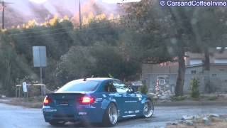 getlinkyoutube.com-LIBERTY WALK Widebody BMW M3 Coupe: Revs, Accelerations & Overview!