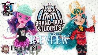 getlinkyoutube.com-Monster High Isi Dawndancer & Kjersti Trollson Doll Review | Brand Boo Students