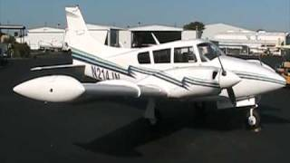 getlinkyoutube.com-TWIN COMANCHE - MILLER 200 TURBO, STOL