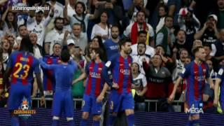 Lo que no has visto de la celebración de Messi en El Clásico ante el Real Madrid width=
