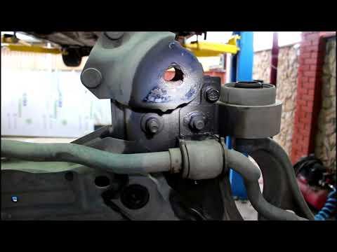 Ремонт шпильки крепления подрамника Mazda 6 Мазда 6 2007 года