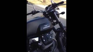 getlinkyoutube.com-2013 moto guzzi v7 with lafranconi exhaust