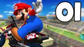 getlinkyoutube.com-Mario Kart Wii - Episode 1: Mushroom Cup 150cc