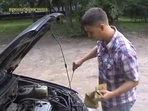 Как поменять масло в двигателе. Проще простого