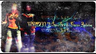 getlinkyoutube.com-WWE 2K17::CADS:Shira Skye & Princess Andersen [PS4]
