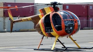 "getlinkyoutube.com-GoPro Hughes 500 ""Doors Off"" Helicopter Flight in Oahu, Hawaii Takeoff/Landing"